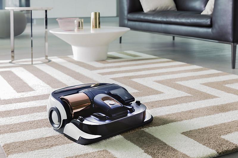 Robotický vysavač Powerbot VR9000 značky Samsung  Foto: Samsung, oficiální zdroj