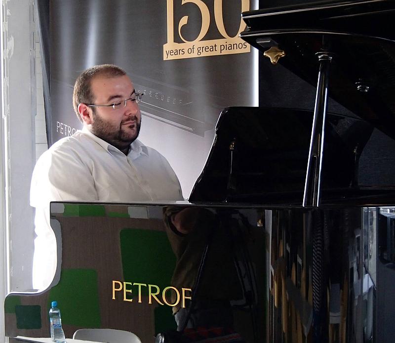 Václav Tobrman se představí v rámci Jazzových adventních koncertů v NG Myslbek Foto: NG Myslbek, oficiální zdroj
