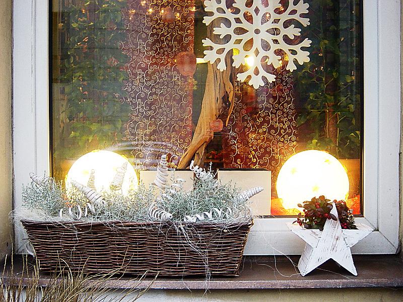 Vánoční dekorace okna může potěšit oko v interiéru i exteriéru Foto: e-Newspeak