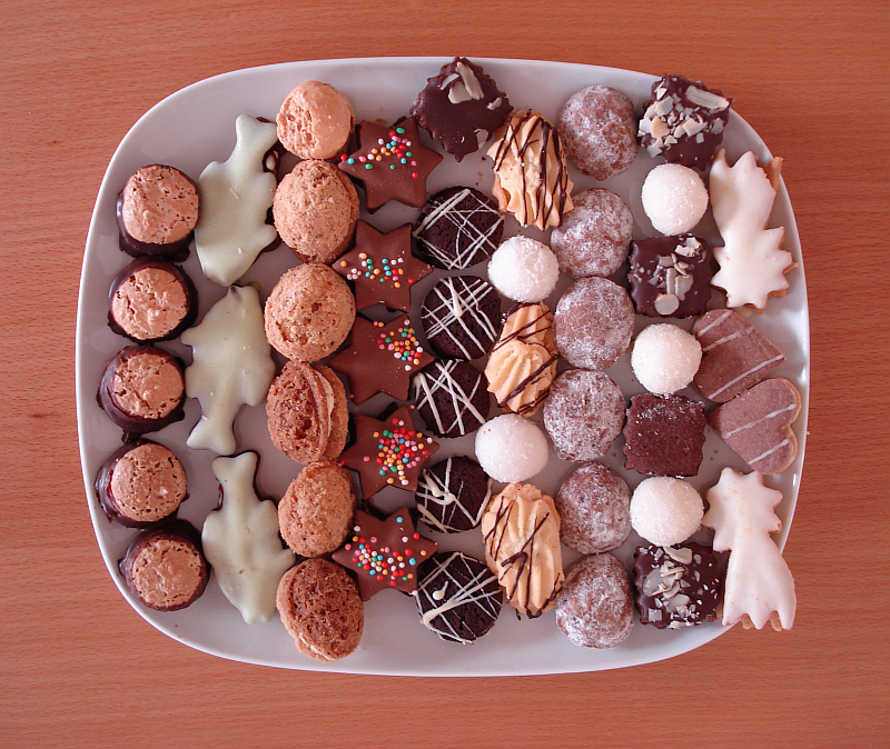 Vánoční cukroví Foto: Rémi Diligent, Wikimedia Commons