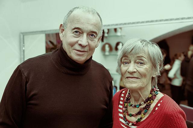 Ivan Vyskočil a Luba Skořepová v Salonu Magdalena Foto: Josef Edvard Gregor, Kloboukfilm, oficiální zdroj