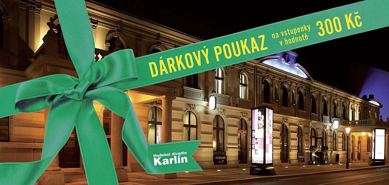 Dárkový poukaz do Hudebního divadla Karlín Oficiální zdroj: HDK