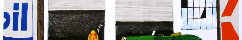Tomáš Bím: . CESTA NA KEE WEST, litografie, 2013, 37 x 39 cm Oficiální zdroj: ArtForum