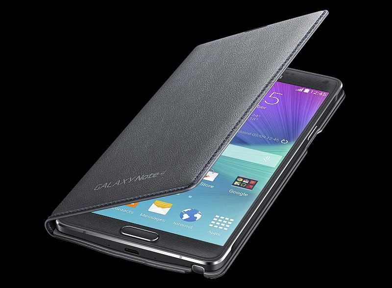 LED flipové pouzdro s kapsou Samsung Foto: Samsung, oficiální zdroj
