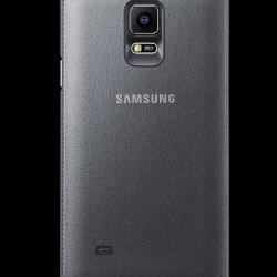 LED flipové pouzdro s kapsou Samsung__Back_gray_Standard_Online_P
