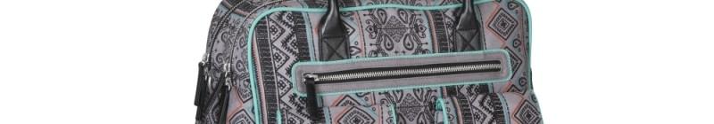 Kabela LÄSSIG Shoulder Bag Ethno v odstínu Plum Foto: Babypoint, oficiální zdroj