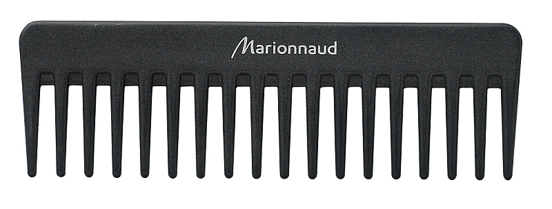 Antistatický rozčesávací hřeben z kolekce Hair Accessorie Marionnaud  K dostání  v síti  parfumerií  Marionnaud  za  cenu 99 Kč. Foto: Marionnaud, oficiální zdroj