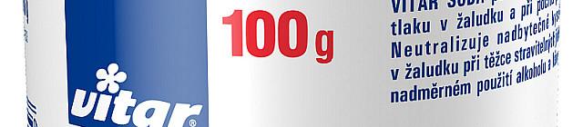 Vitar Soda. Balení 100 g za 30 Kč nebo 150 tablet za 50 Kč zakoupíte v lékárnách. Foto: Vitar, oficiální zdroj