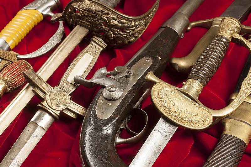 Sbírka historických zbraní Foto: Dorotheum, oficiální zdroj