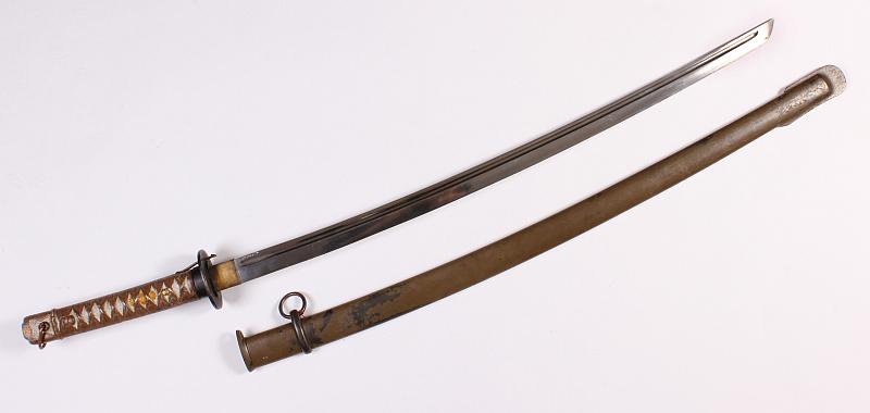 Dorotheum: Japonský vojenský meč (Šin-guntó) s pochvou ze 30. let 20 století Foto: Dorotheum, oficiální zdroj