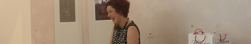 Helena Dařbujánová ve svém pražské obchodě Foto: e-Newspeak