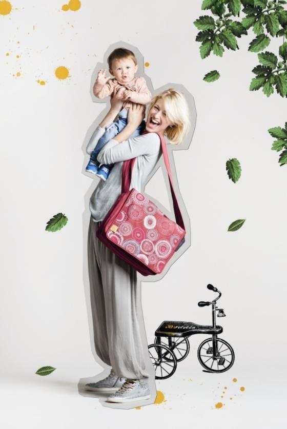 Taška LÄSSIG, ukázka z letošní kolekce Foto: Babypoint, oficiální zdroj