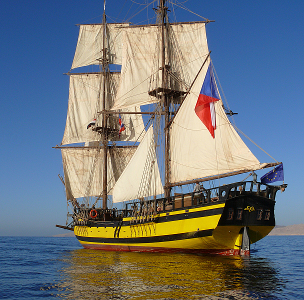 La Grace pod plachtami Foto: La Grace, oficiální zdroj