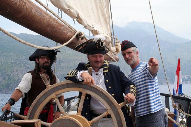 Kapitán La Grace Josef Dvorský a Tomáš Hanák Foto: La Grace, oficiální zdroj