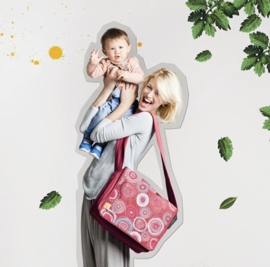 Taška LASSIG z letošní kolekce Foto: Babypoint, oficiální zdroj