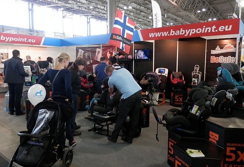 Stánek Babypointu na loňském veletrhu PRODÍTĚ Foto: Babypoint, oficiální zdroj
