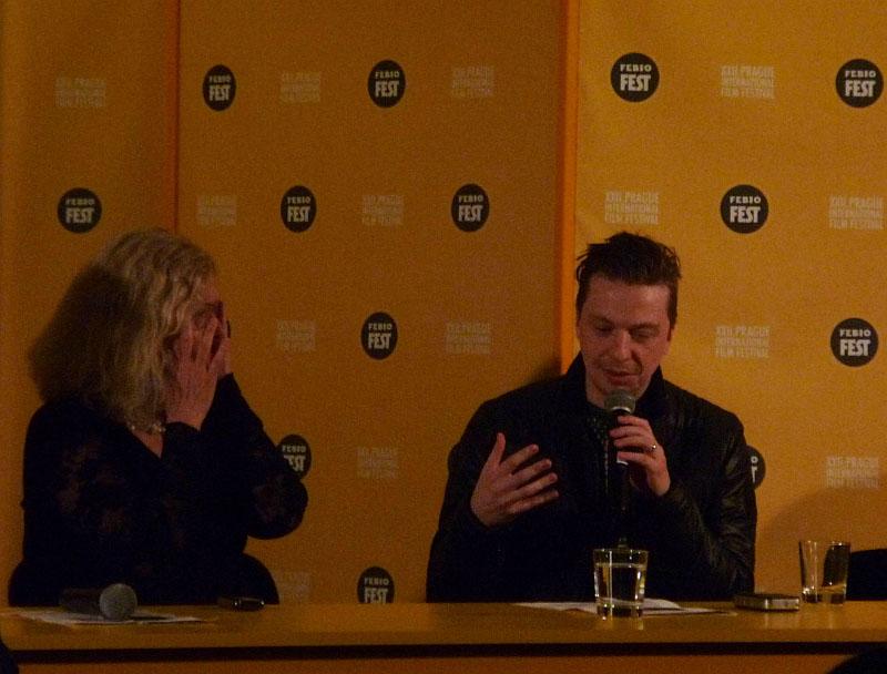 Febiofest: Tisková konference s režisérem Baldvinem Zophoníassonem Foto: e-Newspeak