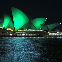 Greening_Sydney Opera House-foto Tourism Ireland