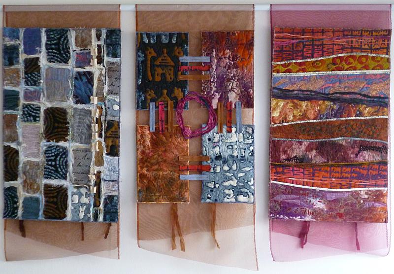 Prague Patchwork Meeting: Jana Štěrbová - Africký triptych Foto: PPM, oficiální zdroj