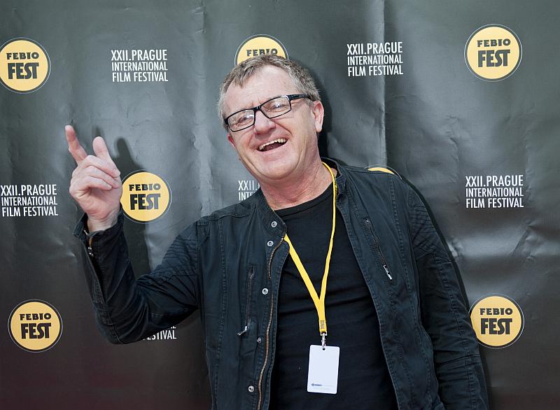 Hostem Febiofestu je i producent Mike Downey Foto: MFF Praha - Febiofest, oficiální zdroj