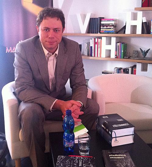 Zakladatel knižních cen Magnesia Litera Pavel Mandys Foto: Magnesia Litera, oficiální zdroj