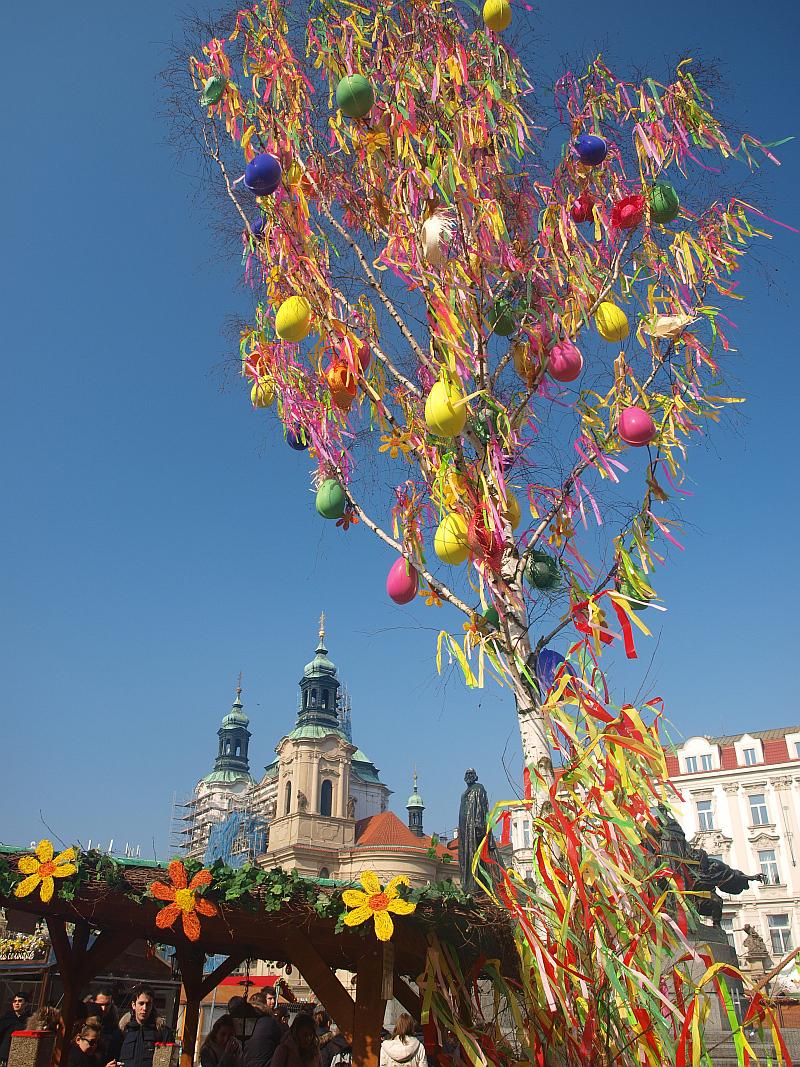 Velikonoční trhy na Staroměstském náměstí Foto: Taiko, oficiální zdroj