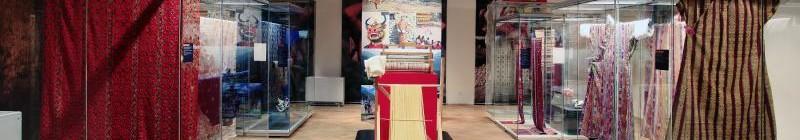 Výstava Bhútán – země blízko nebe: Pohled do expozice Foto: Náprstkovo muzeum, oficiální zdroj