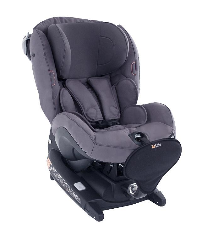 V autosedačce BeSafe iZi Combi X4 ISOfix skupiny 0/1 a 1 mohou děti jezdit proti směru jízdy až do 4 let věku Foto: BeSafe/Babypoint, oficiální zdroj