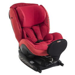 BeSafe iZi Kid i-Size_odstin Tone in tone Ruby Red