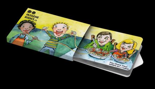 Kampaň Hledáme rodiče: Žvýkačky Charity Gums s logem Hledáme rodiče  Foto: Hledáme rodiče, oficiální zdroj