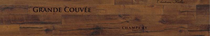 Dřevěná podlaha Kährs DaCapo_dekor Dub Domo s potiskem motivu vína Foto: KPP, oficiální zdroj