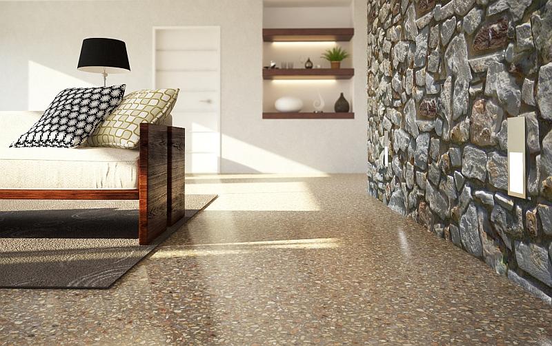 Litá podlaha z cementových potěrů Cemflow Look Foto: Českomoravský beton, oficiální zdroj