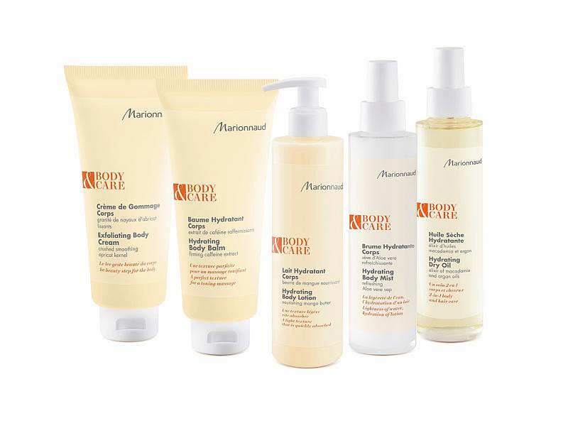 Řada tělové kosmetiky Marionnaud Skin Care Foto: Marionnaud, oficiální zdroj