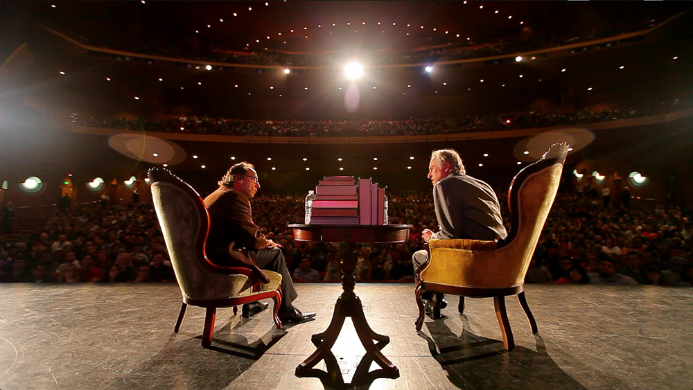 AFO 2015: Richard Dawkins a Lawrence M. Krauss Foto: AFO, oficiální zdroj
