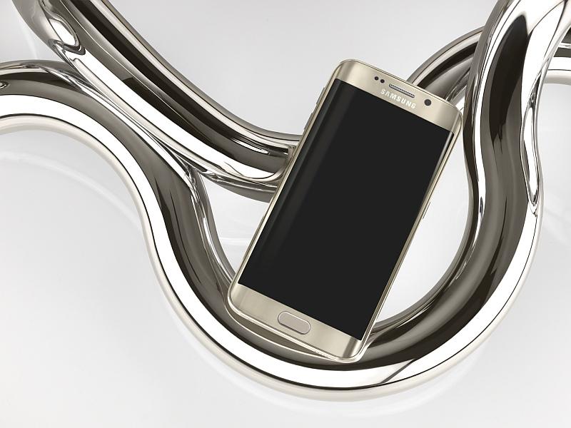 Samsung Galaxy S6 edge, provedení Gold Platinum Foto: Samsung, oficiální zdroj