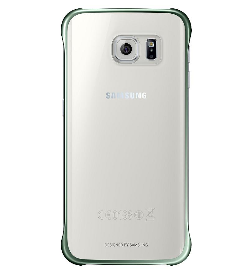 Zadní kryt Clear Cover v zeleném provedení pro smartphony Galaxy S6 a S6 edge  Foto: Samsung, oficiální zdroj