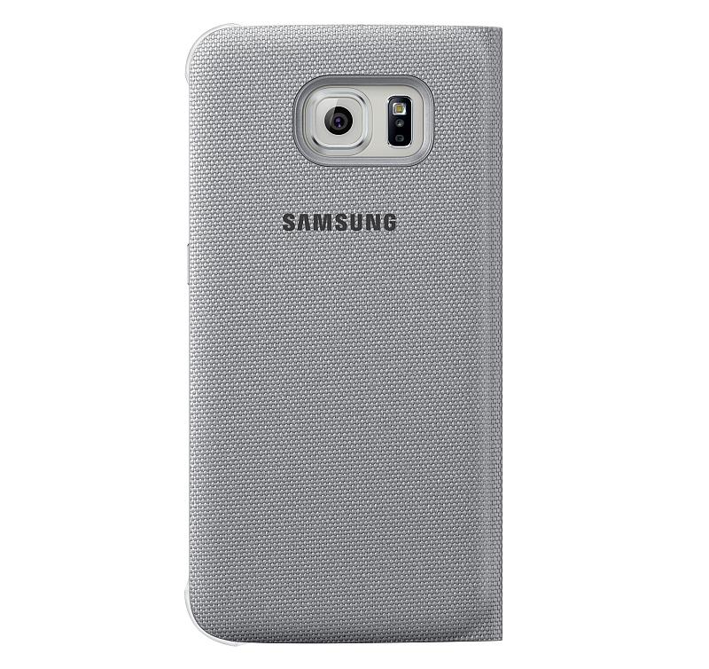 Flipové pouzdro s kapsou a S View pro smartphony Galaxy S6 a S6 edge Foto: Samsung, oficiální zdroj
