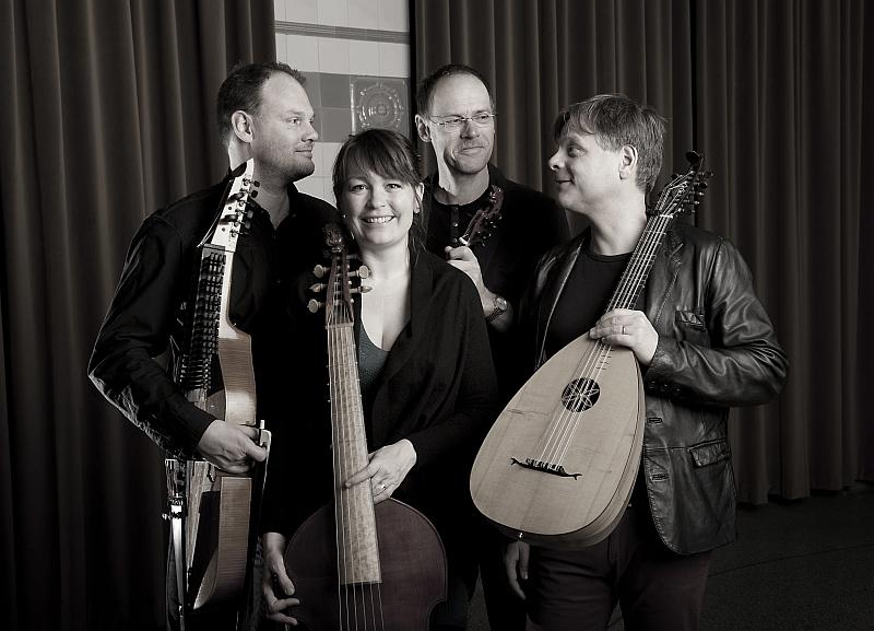 Letní slavnosti staré hudby: Hemiolen - Silfver Foto: Collegium Marianum, oficiální zdroj