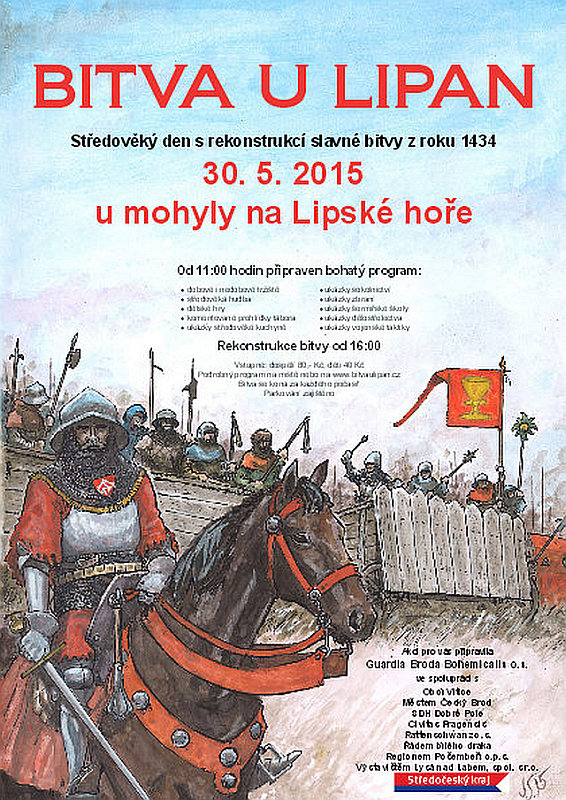 Bitva u Lipan plakát Oficiální zdroj: Bitva u Lipan