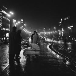 Boris Baromykin_Večer na Václavském náměstí