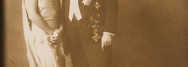 Diadém na dobovém fotu manželů Mastných Foto: archiv Dorotheum, oficiální zdroj