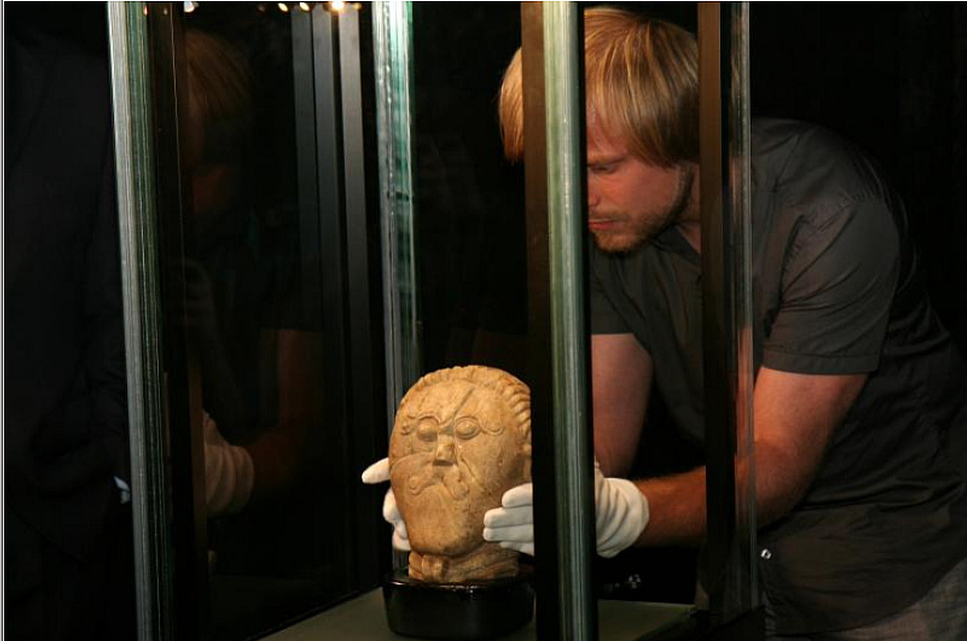 Hlava kelta, zdroj: Národní muzeum