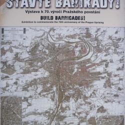 Mapa barikád během Pražského povstání roku 1945