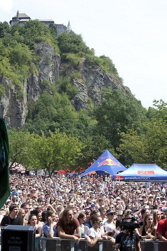 Festival Hrady CZ zavítal i na Kunětickou horu Foto: HRADY CZ, oficiální zdroj