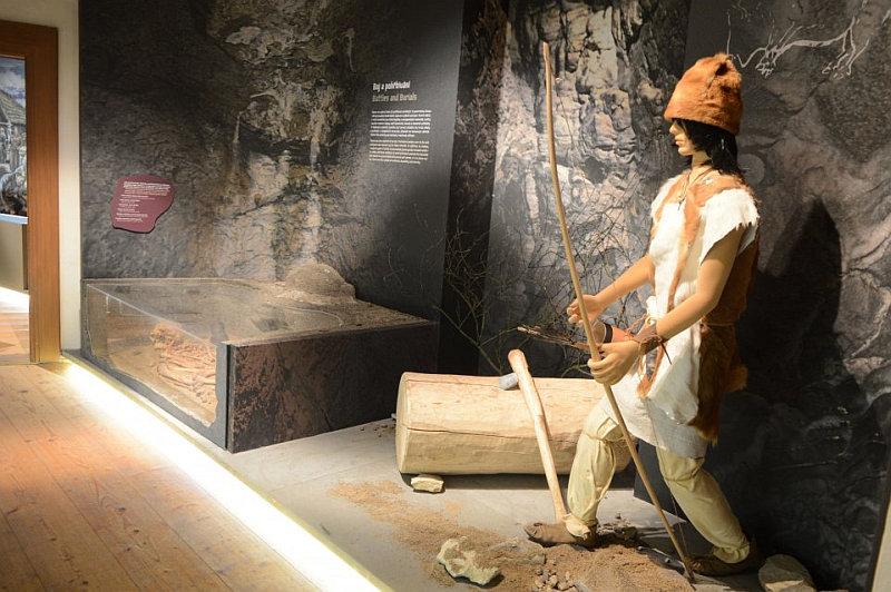 Z expozice Kámen v pravěku Foto: MHMP, oficiální zdroj