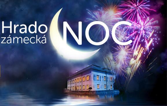 Hradozámecká noc plakát Oficiální zdroj: NPÚ