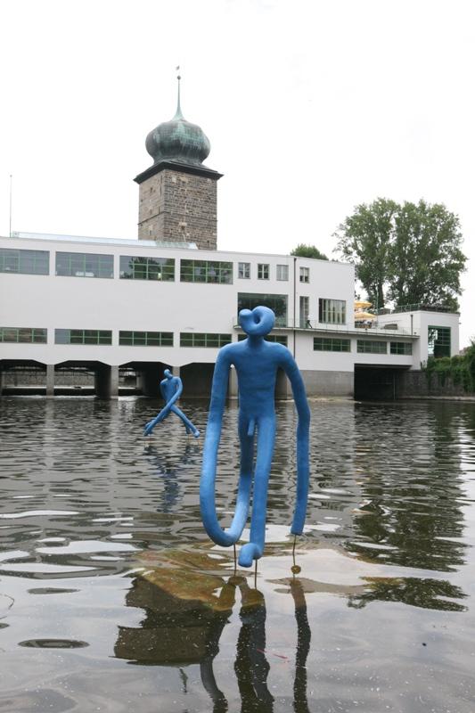 Instalace Průzkumníci od Michala Gabriela Foto: Sculpture Line, oficiální zdroj