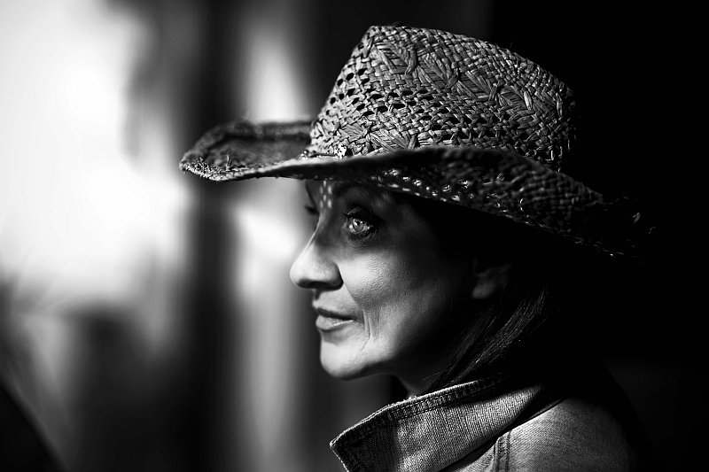 Lenka Hatašová - V jiném světle: herečka Zlata Adamovská Foto: autor Lenka Hatašová/Nikon, oficiální zdroj