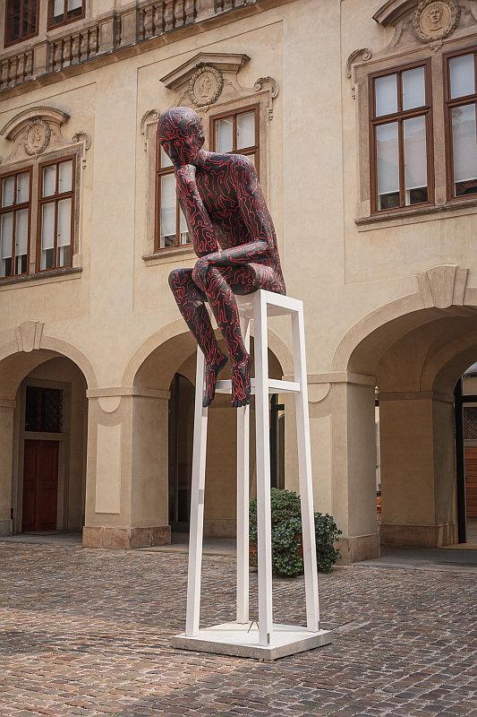 Sculpture Line: Michal Trpák - Myslitel Foto: Sculpture Line, oficiální zdroj