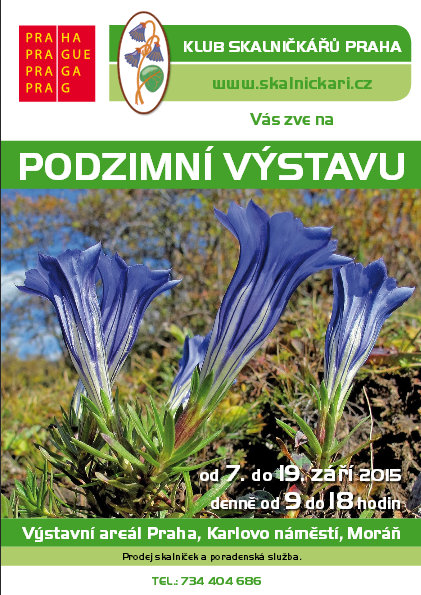 Podzimní výstava skalniček Oficiální zdroj: Klub skalničkářů Praha
